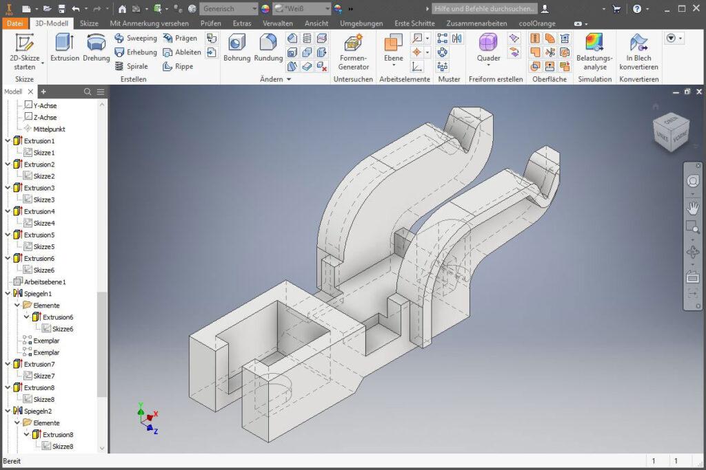 AutoDesk Inventor - Screenshot